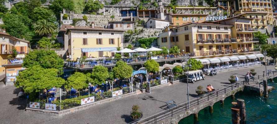 Hotellet ligger i en rolig fodgængerzone tæt på det historiske centrum i Limone sul Garda