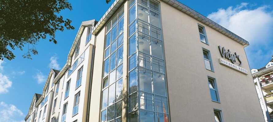 Det 4-stjernede Victor's Residenz-Hotel Gummersbach, har en dejlig beliggenhed i naturskønne Nordrhein-Westfalen.