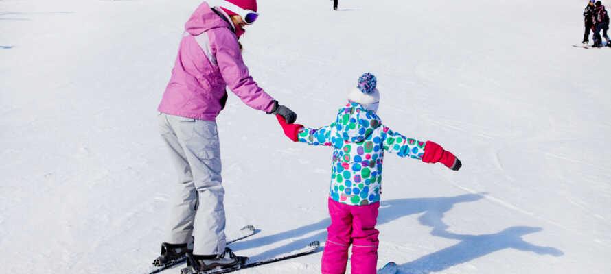 Hotellet ligger kun 20 km fra Ål Skicenter.
