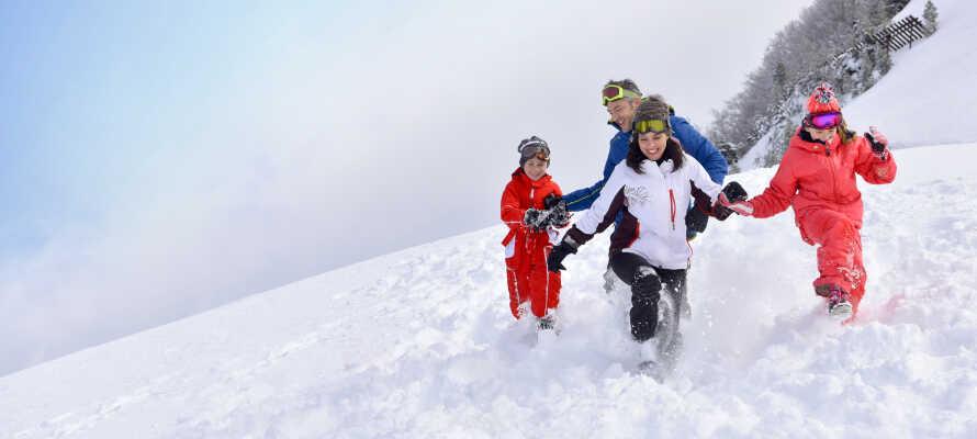Både Skarslia og Ål Skisenter tilbyr familievennlige omgivelser og barnevennlige vinteraktiviteter.