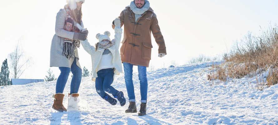 Ta med hele familien på skiferie på Vats Fjellstue, og bo rett ved siden av Skarslia Skisenter.