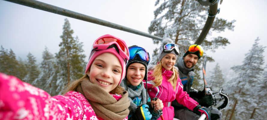 Hemsedal Skicenter passer perfekt for en familieferie.