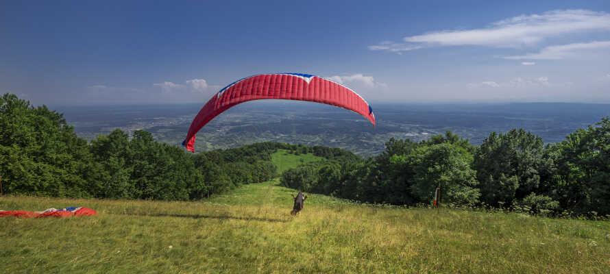 Vågå er Norges hang- og paraglidinghovedstad, og naturen er som skræddersyet til det.