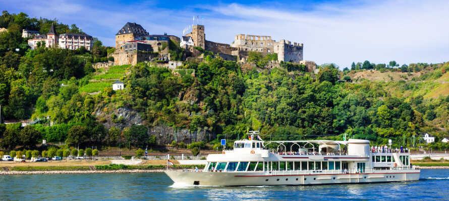 Tag på idylliske sejlture på floden, og udforsk regionens skønhed og de mange historiske slotte.