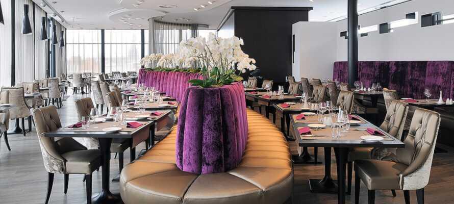 Prøv de ypperste belgiske retter i hotellets restaurant L'Atelier.