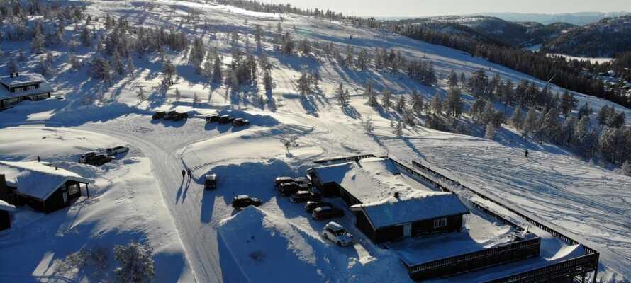 Ski Lodge Gautefall tilbyder en personlig og venlig service.
