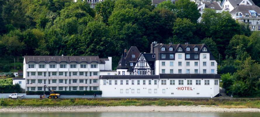 Hotel L'Europe er det eneste hotel i området, som ligger direkte ved vandet.