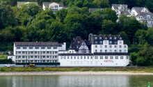 Hotel L'Europe ligger direkte på Rhinens bred.