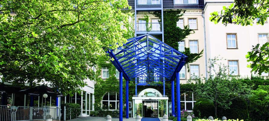 Hotellet har en fremragende beliggenhed mellem Leipzig, Erzgebirge og Thüringer Wald.