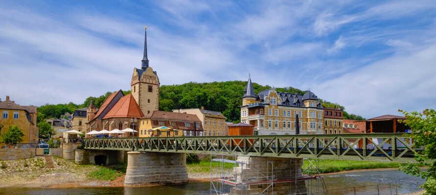 Geras indre by er en arkitektonisk perle, som bl.a. imponerer med med end hundrede karakterfulde byhuse.