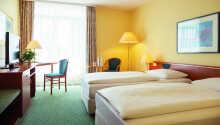 Hotellets værelser giver hyggelige og komfortable rammer under opholdet.